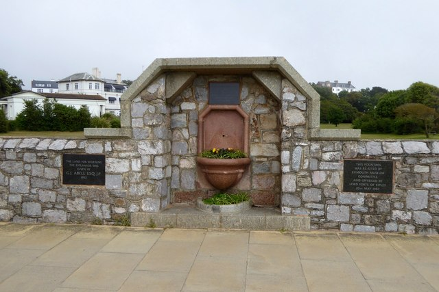 Drinking fountain, Esplanade, Exmouth
