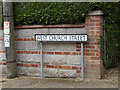 TM0485 : West Church Street sign by Adrian Cable