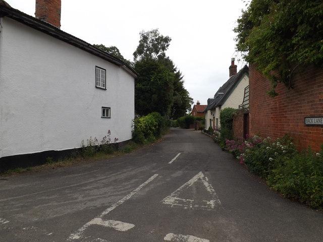 Back Lane, Kenninghall