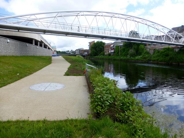 Riverside path, Omagh