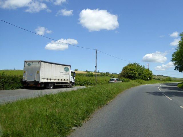 Lay-by on A39 Shirwell Road