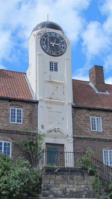 Clock tower on The Keelmens Hospital, City Road, NE1