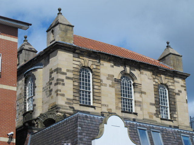 The upper storey of the Sallyport Tower