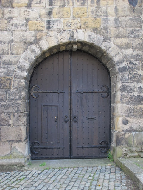 Entrance to the Sallyport Tower