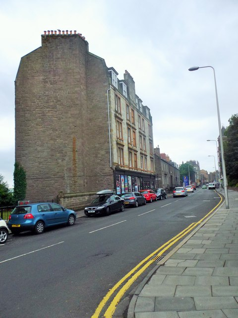 Tenements on Perth Road, Dundee