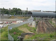 TQ3084 : Railways north of Kings Cross by Christopher Hilton