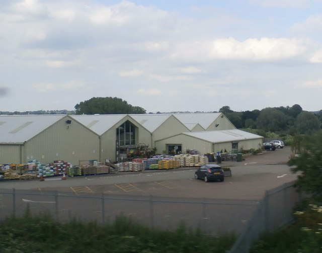 Whilton Locks Garden Centre by Anthony Parkes