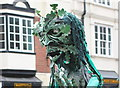 SJ4066 : The Green Man in Chester by Jeff Buck