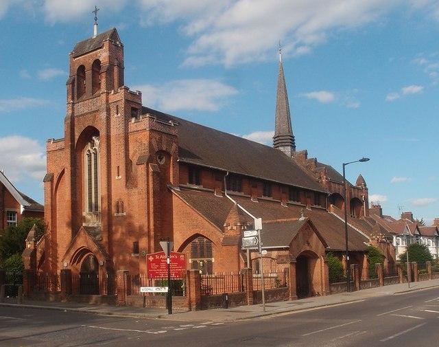 Church of St Aldhelm, Silver Street, London N18