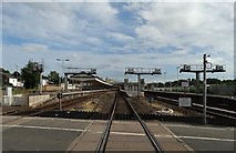 SX9193 : Exeter St David's railway station by Neil Theasby