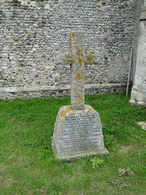 Thrigby War Memorial