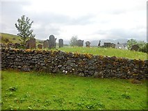 NN3528 : Small cemetery near St Fillan's Priory by Stephen Sweeney