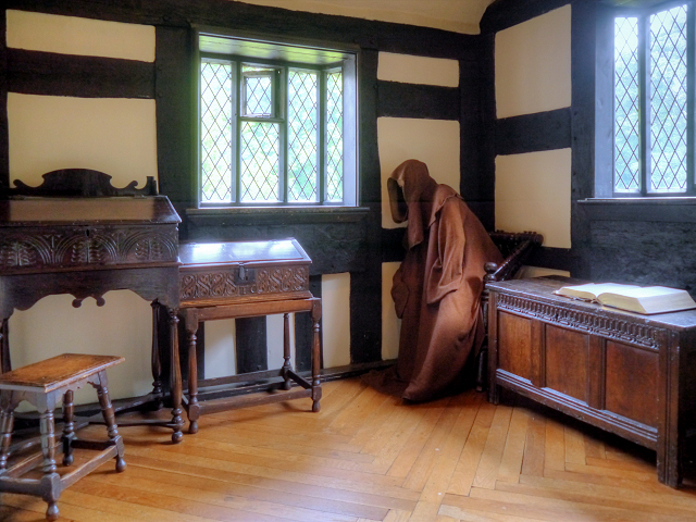 Samlesbury Hall Priest's Room