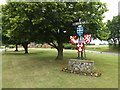 TM0385 : Kenninghall Village sign by Adrian Cable