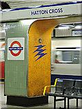 TQ0975 : Hatton Cross tube station by Thomas Nugent