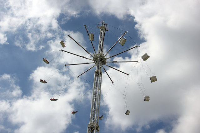 Sky Swing at the Cheshire Show