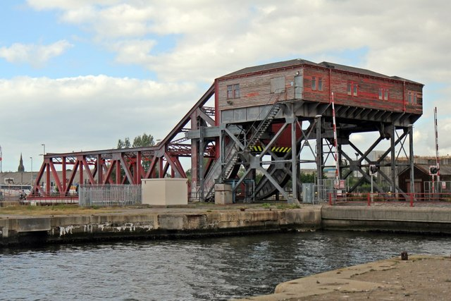 Tower Road bascule bridge, Birkenhead