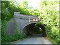 SK9519 : Disused railway bridge along Morkery Lane by Marathon