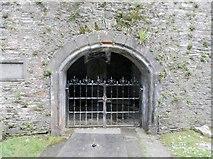 NN8666 : The Claverhouse Vault, St Bride's Church, Old Blair by Douglas Nelson