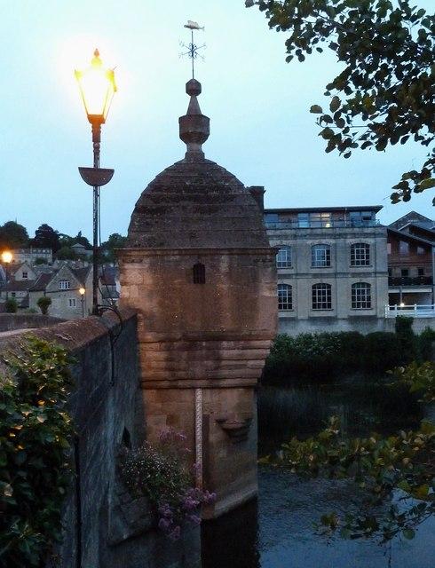 Bradford on Avon - The chapel on the bridge