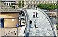 J3474 : New Lagan weir footbridge, Belfast - June 2015(6) by Albert Bridge
