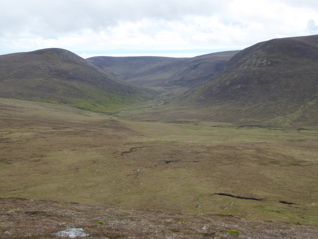 Glen Sletdale from the north
