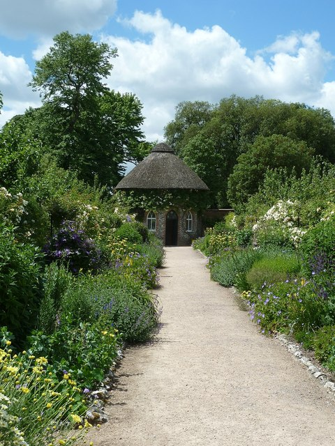 West Dean - Walled garden and summer house