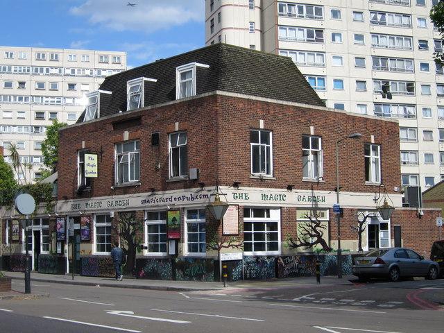 The Magic Garden pub