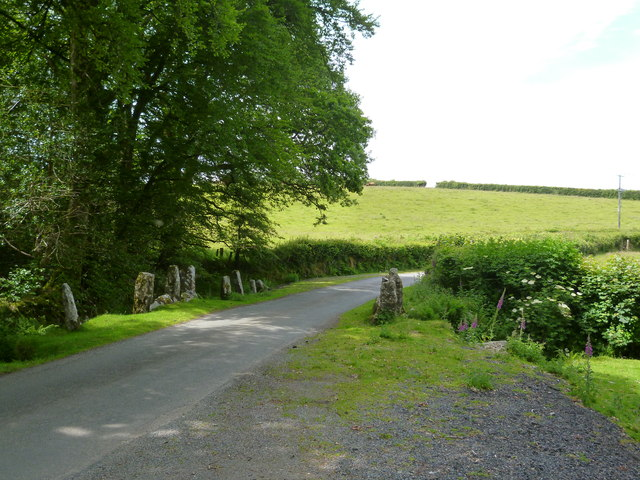 B Road towards the moor
