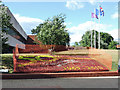 TQ1376 : 50th Anniversary flower bed by Thomas Nugent