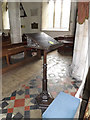 TM0081 : Lectern of St.John the Baptist Church by Adrian Cable