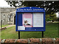 TM0081 : St.John the Baptist Church Notice Board by Adrian Cable