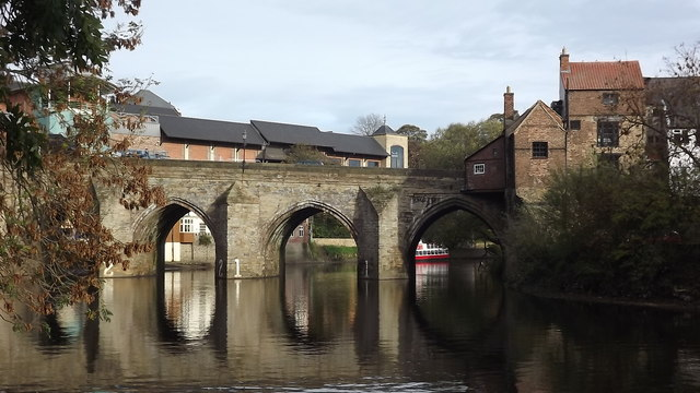 Durham's Elvet Bridge
