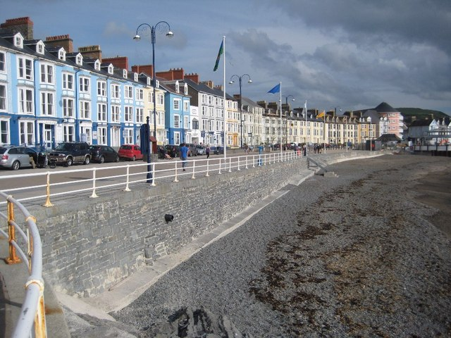 Seafront at Aberystwyth