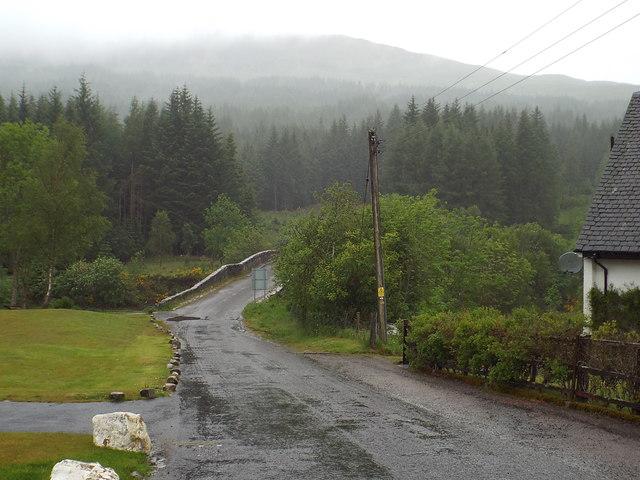 Lane at Bridge of Orchy