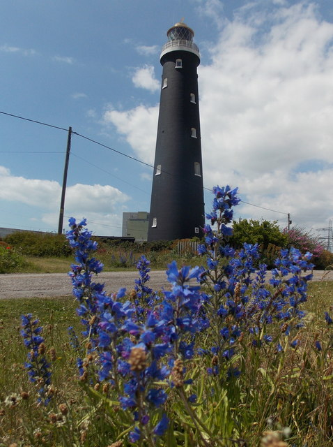 Dungeness: the old lighthouse