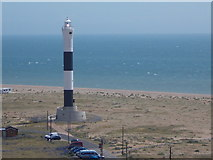 TR0916 : Dungeness: the new lighthouse from the old by Chris Downer