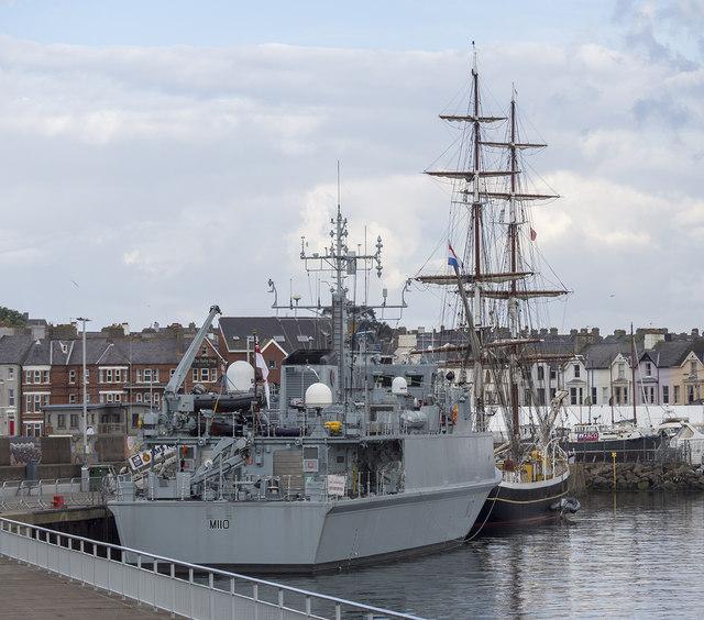 Two ships at Bangor
