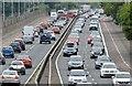 J3775 : Evening peak traffic, Sydenham bypass, Belfast (July 2015) by Albert Bridge