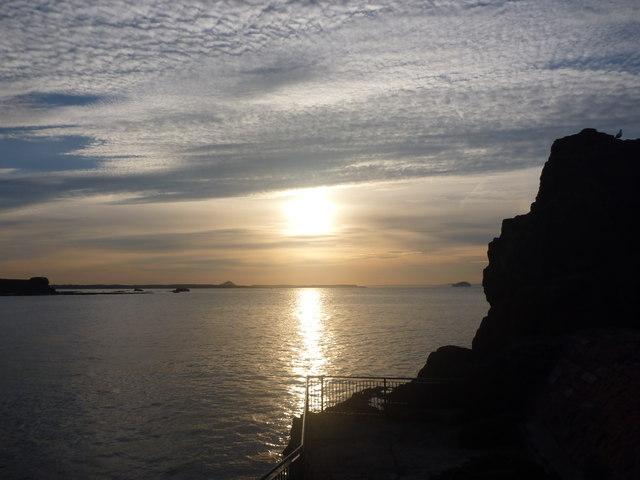 Coastal East Lothian : Dunbar Sunset