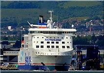 "J3778 : The ""Stena Superfast VII"", Belfast (July 2015) by Albert Bridge"