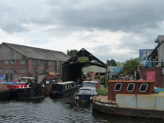 Hirst Boat Builders slipway, Knottingley