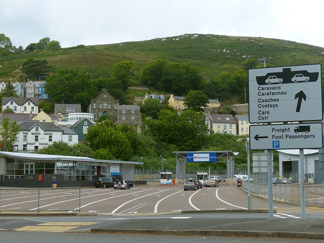 The entrance to fishguard ferry port robin drayton - Rosslare ferry port arrivals ...
