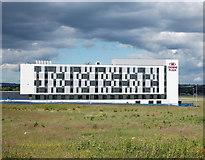 NJ8711 : Aberdeen Airport hotel I by Bill Harrison