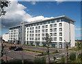 NJ8711 : Aberdeen Airport hotel II by Bill Harrison