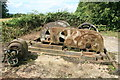 SK4115 : Converted steam winch - Swannington Incline by Chris Allen