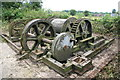 SK4115 : Converted steam winch - top of Swannington incline by Chris Allen