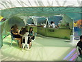 TQ2679 : Serpentine Gallery Pavilion 2015 - coffee bar by David Hawgood