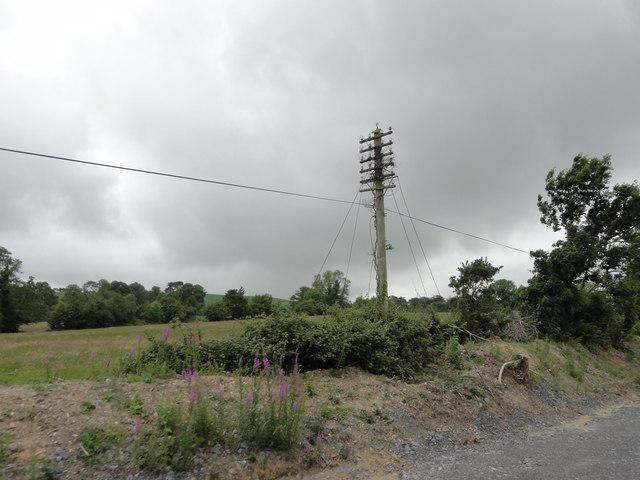 Communications pole
