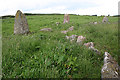 NO9096 : Aquhorthies Recumbent Stone Circle (9) by Anne Burgess